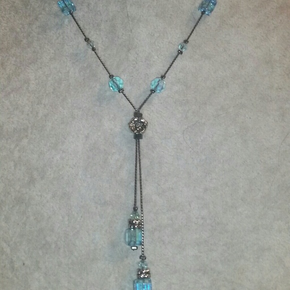 Dabby Reid Jewelry - Dabby Reid 'Heidi' Gunmetal & Swarovski Crystal Ne
